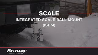 Fastway: FLASH™ Integrated Scale Ball Mount