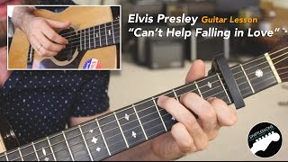 "Guitar Lesson ""Can't Help Falling in Love"" Elvis Presley, Haley Reinhardt"