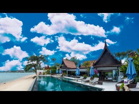Amazing Thai villas: Tour this 4-bedroom luxury beachfront villa in Bangrak, Koh Samui