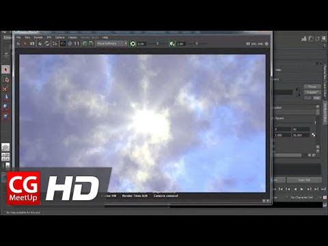 "CGI 3D Tutorials HD: ""Creating Realistic Clouds with Maya Fluids"" by Studio Four Media"