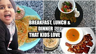 HEALTHY BREAKFAST IDEAS | TODDLER LUNCH RECIPES | DINNER RECIPES FOR KIDS