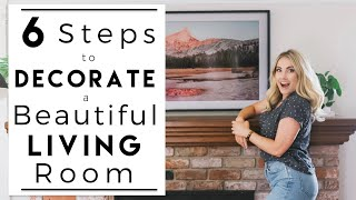 INTERIOR DESIGN | How To Decorate A Beautiful And Cozy Living Room | House To Home