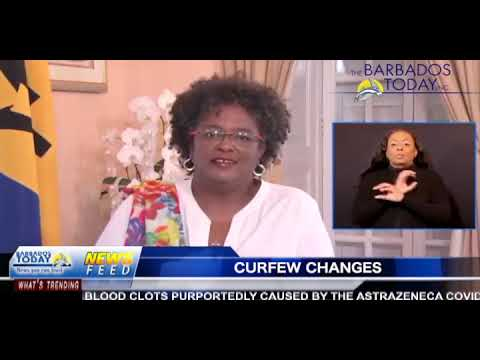 BARBADOS TODAY EVENING UPDATE April 8, 2021