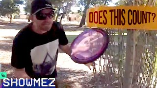 Would you count this? | Disc Golf Fails of the Week | SHOWMEZ