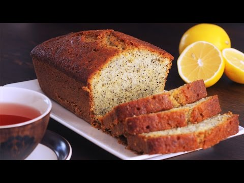 Video Lemon Poppy Seed Pound Cake Recipe