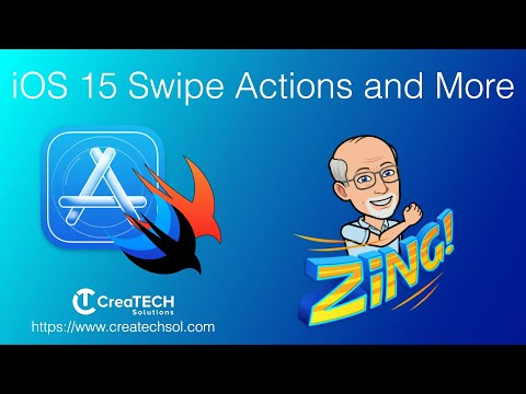 iOS 15 Swipe Actions, Enumerated List and more thumbnail
