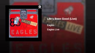 Life's Been Good (Live)