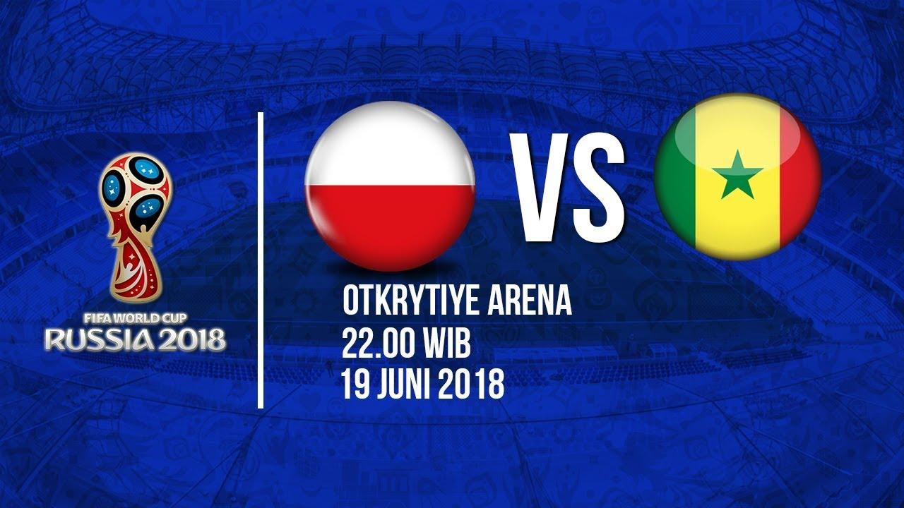 Jadwal Siaran Langsung Pertandingan Laga Polandia Vs Senegal di Piala Dunia 2018
