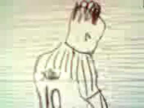Filp book Animation Football skills