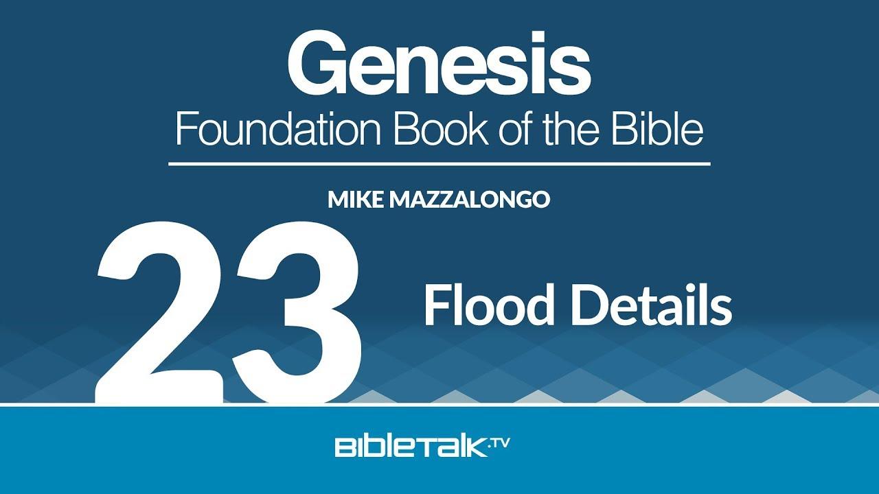 23. Flood Details
