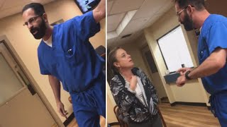 Video Shows Doctor Throwing Patient Out of Office
