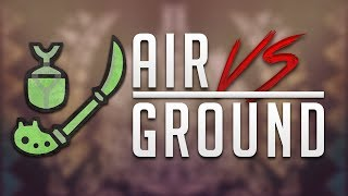 Insect Glaive: AIR vs GROUND