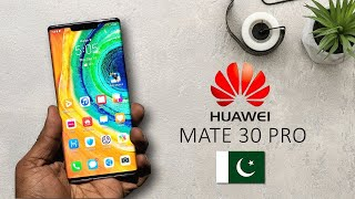 Huawei Mate 30 Pro Unboxing and Hands On Leaked? Price in Pakistan
