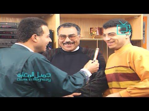 """لقاء نادر- والد إيهاب توفيق يتحدث عنه ويغني """"على كيفك ميل"""""""