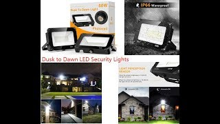 PawPaw Reviews the 6,000 Lumen Security Lights by Onforu