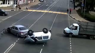Аварии Январь 2018.год.Ты чё баран бл@!