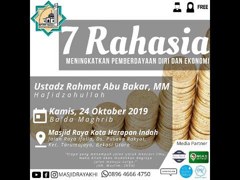 7 Rahasia Pemberdayaan Diri dan Ekonomi - Ustadz Rahmat Abu Bakar, MM