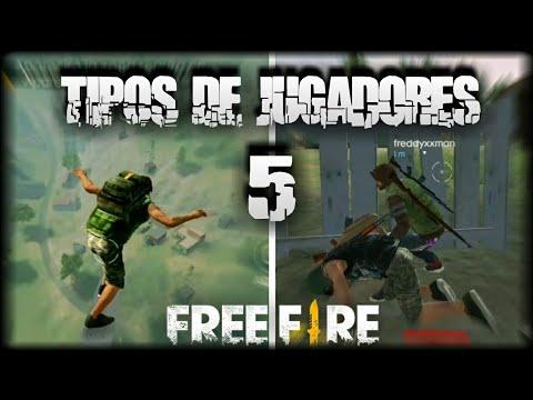 TIPOS DE JUGADORES FREE FIRE | PARTE 5