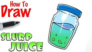How To Draw The Slurp Juice Fortnite Wow Clip