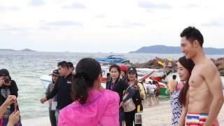 Mister Supranational Thailand หนุ่มๆ77จังหวัดสาวๆต่างชาติกริ๊สสส ที่เกาะล้าน cr.EVENT96