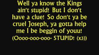 Joseph & TATD - Song of the King Lyrics