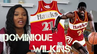 New NBA Sports Fan Reacts To Dominique Wilkins's Basketball Highlights