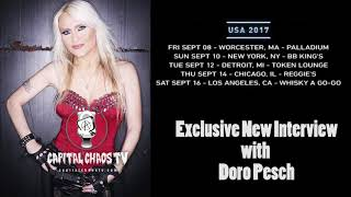DORO PESCH, The Voice Of WARLOCK Interviewed