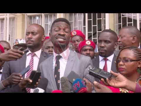 OKWEBUUZA KWA BOBI WINE: Poliisi eriko byekyabanja, ab'eby'okulonda baanukudde