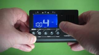 Review and demo of the Mugig MT-1S Tuner/Metronome