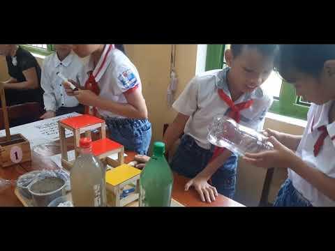 STEM: Thiết kế bình lọc nước sạch mi ni