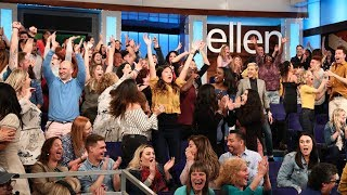 Ellen Shares the Wealth with Her Audience - Video Youtube
