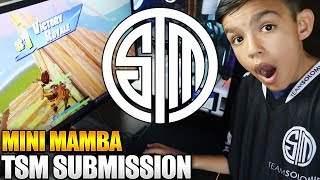 Mini Mamba TSM Submission Montage! 10 Year Old Little Brother