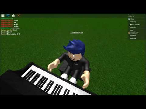 Extremely Fast Roblox Piano Player Plays Demons Undertale