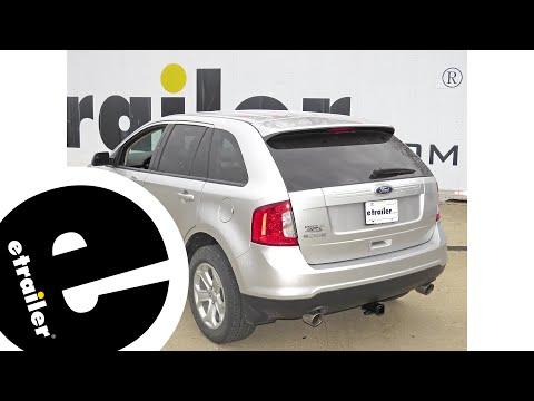 Trailer Hitch Installation  Ford Edge Draw Tite Etrailer Com