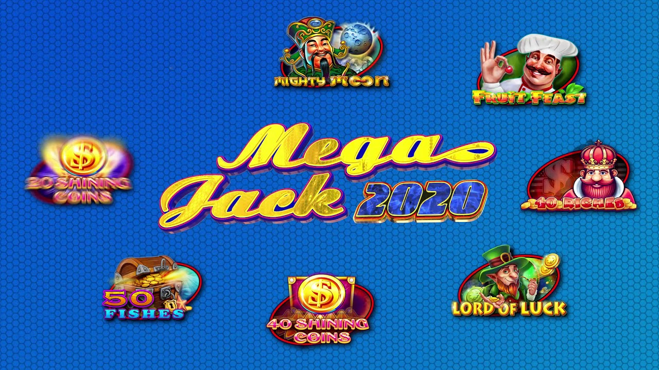The new Mega Jack 2020 multigame by CT Gaming