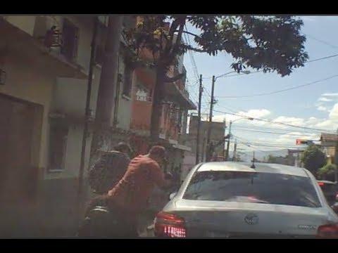 Así secuestraron a una mujer en La Reformita, zona 12
