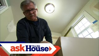 How To Install Kitchen Cabinets | Ask This Old House