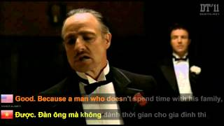 The GodFather   Most Valuable Quote   A Real Man