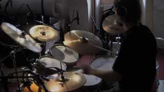 Video Llyr - Studio report (drums)