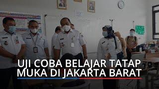 Lulus Assesment, 13 Sekolah di Jakarta Barat Uji Coba Belajar Tatap Muka