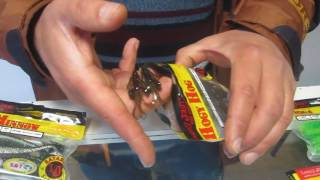 Виброхвост lucky john pro series alien bug