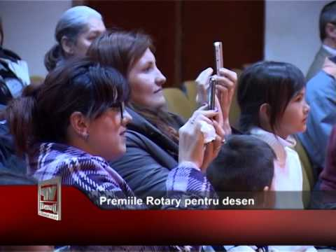 Premiile Rotary pentru desen