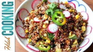 How to make Quinoa Salad | Hilah Cooking