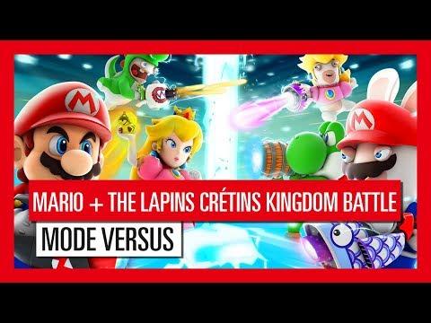 Mode Versus de Mario + The Lapins Crétins Kingdom Battle