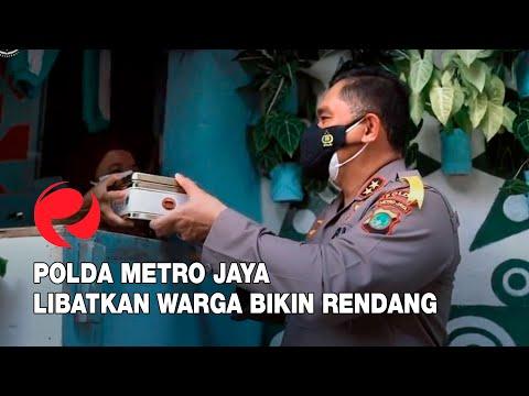 Polda Metro Jaya Libatkan Warga Bikin Rendang