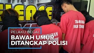 Komplotan Begal Sadis di Bekasi Ditangkap Polres Bekasi: Mayoritas Anggota Masih di Bawah Umur