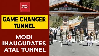 Image Of The Day: PM Narendra Modi Inaugurates Atal Tunnel - Download this Video in MP3, M4A, WEBM, MP4, 3GP