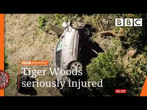 Tiger Woods undergoes surgery after car crash ???? @BBC News live - BBC