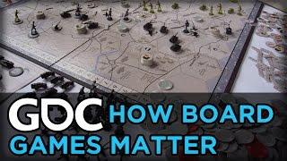 How Board Games Matter