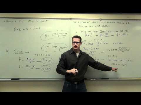 Statistics Lecture 7.2 Part 11